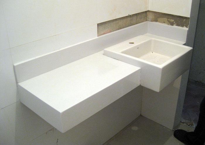Planeta Pedras  excelência em travertino, granitos nacionais, mármores nacio -> Pia De Banheiro Branco Prime