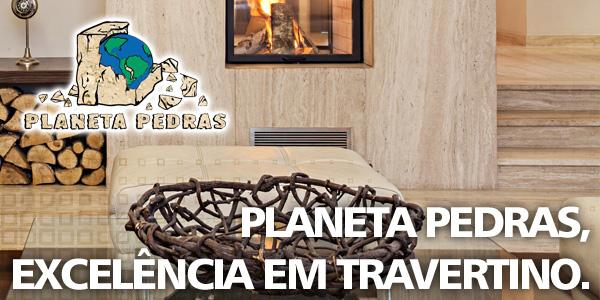 Planeta Pedras - excelência em travertino, granitos nacionais, mármores nacionais e importados